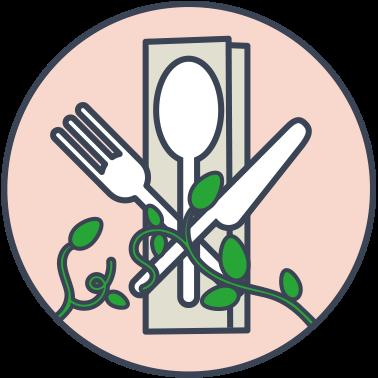 Biodegradowalne sztućce
