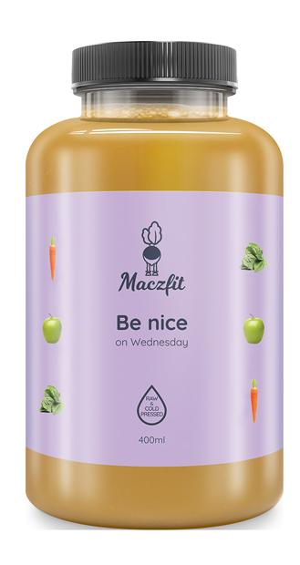 Be nice on Wednesday