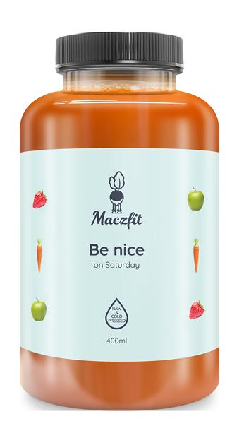 Be nice on Saturday